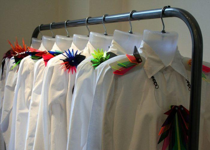 dámské bílé košile Yang Du