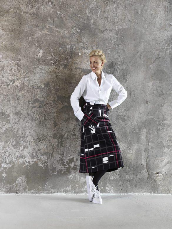 dámská sukně s potiskem Timoure et group
